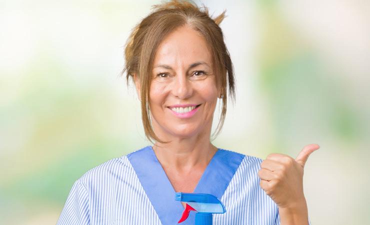 Reinigungskraft, 45 J, normale Vorsorge unauffällig, S-Pap zeigt leichte Krebsvorstufe